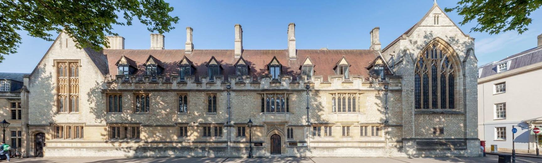 Exterior of St Cross College