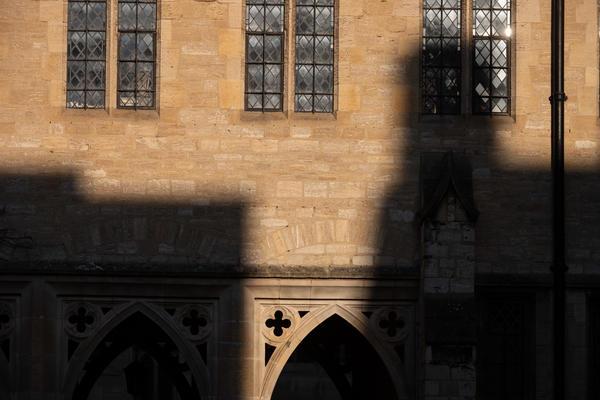 Arches shadow